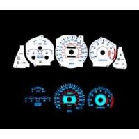 Накладка на щиток приборов для Toyota Celica T18# 90-93 150MPH WHITE FACE GLOW GAUGES