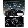 Накладка на щиток приборов для Toyota Celica T23# 00-05 BLACK GLOW GAUGES