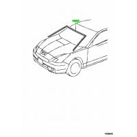 Уплотнитель лобового стекла для Toyota Celica T23# 00-05