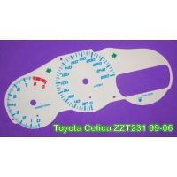 Накладка на щиток приборов для Toyota Celica T23# 99-06 custom
