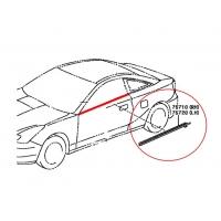 Молдинг двери (бархотка) наружный для Toyota Celica Т23# 00-05 TOYOTA Б/У