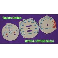 Накладка на щиток приборов для Toyota Celica T18# 89-93 custom