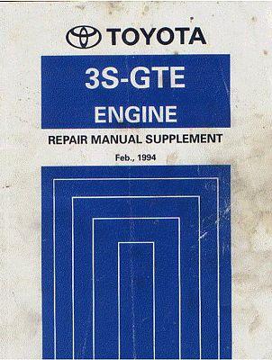 двигателей Toyota 3S-GTE.